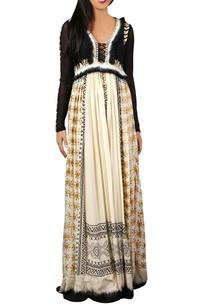 multicolored-chiffon-maxi-dress