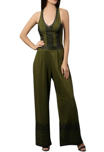 olive-green-halter-style-jumpsuit
