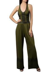olive-green-halter-style-jumpsuit