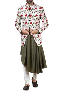 white-floral-bandhgala-with-pants-kurta