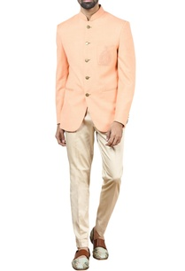 peach-bandhgala-with-trousers