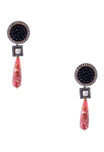 black-jadtar-gold-plated-earrings