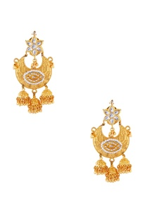 gold-semi-precious-stones-gold-plated-earrings