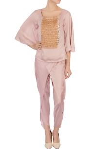 lavender-tassel-blouse-dhoti-pants