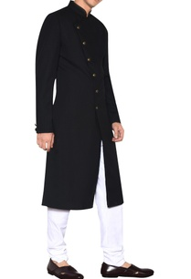 black-cross-over-sherwani