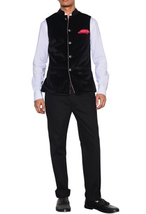 black-velvet-nehru-jacket