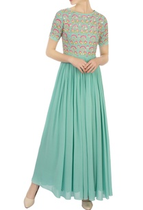 green-georgette-embellished-anarkali