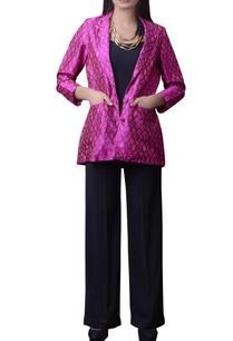 pink-printed-silk-short-jacket