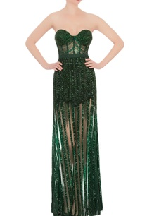 green-sequin-gala-gown