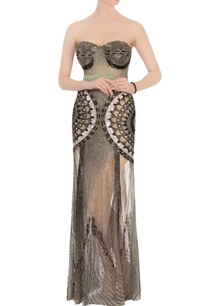 green-black-net-sequin-gown