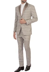 grey-worsted-wool-checks-tuxedo-jacket-with-trousers