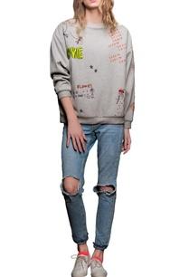 grey-mathematical-motif-sweatshirt