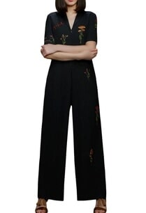 grey-cotton-botanical-motif-jumpsuit