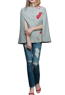 grey-ketchup-motif-cape