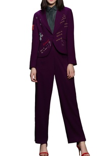 purple-embroidered-blazer-with-pants