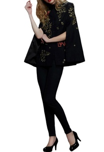 black-embroidered-cape
