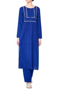 blue-embroidered-kurta