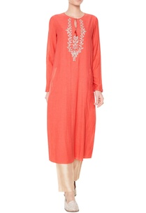 rust-embroidered-tunic