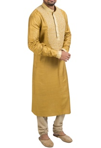yellow-zardozi-kurta-churidar-leggings