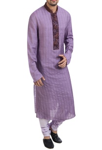 purple-kurta-with-lavender-churidar