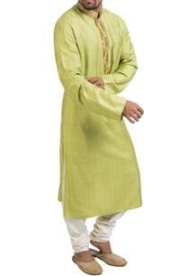 lime-green-gota-kurta-set