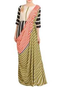 multicolored-stripe-concept-sari