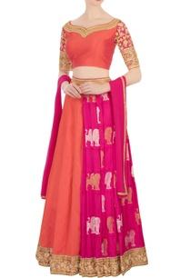 orange-pink-kanjivaram-lehenga-set