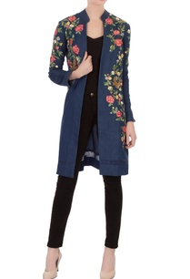 blue-embroidered-denim-front-open-jacket