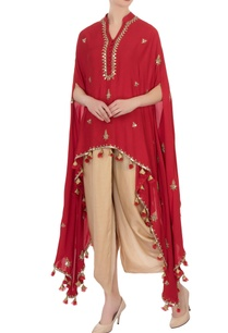 red-knot-style-tassel-cape-tunic