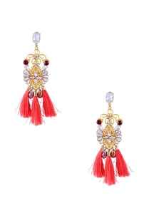 gold-swarovski-earrings-with-tassels