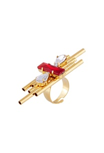 gold-plated-ring-with-red-swarovski-crystals