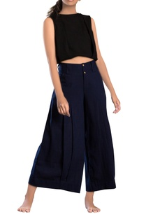 navy-blue-linen-khadi-parallel-pants