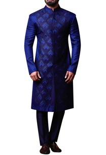 blue-patchwork-style-achkan