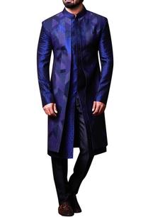 blue-patchwork-achkan-pants