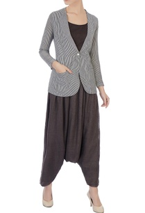 chocolate-brown-moroccan-pants-hand-woven-jacket