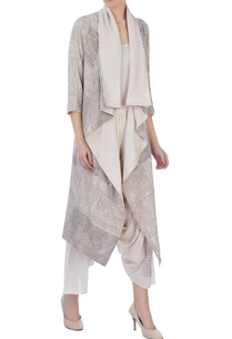 ecru-organic-handwoven-cotton-handblock-print-jacket-and-pants