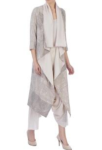 ecru-organic-handwoven-cotton-handblock-print-jacket-and-pants