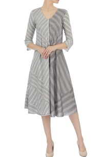 light-grey-ecru-organic-handwoven-cotton-bias-dress