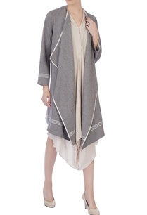 light-grey-organic-handwoven-cotton-open-front-jacket