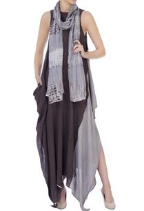 grey-hand-woven-silk-scarf
