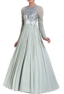 mint-green-cut-dana-work-gown