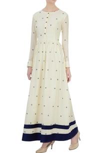 off-white-polka-dot-maxi-dress