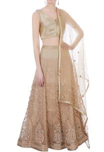 beige-silk-organza-chanderi-3d-embroidered-lehenga-set