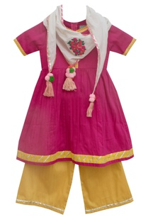 pink-anarkali-kurta-set