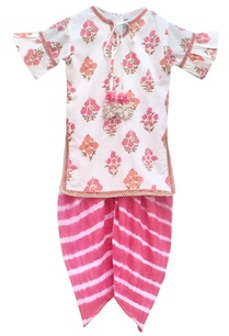 pink-printed-kurta-set