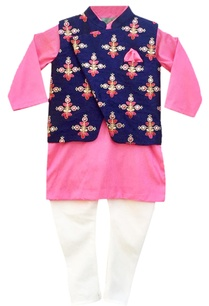 pink-kurta-set-nehru-jacket