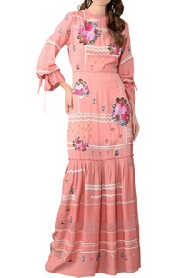 coral-pink-floral-embroidered-maxi-dress