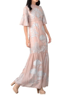 champagne-rose-embroidered-dress