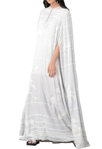 grey-drill-stripe-applique-maxi-kaftan