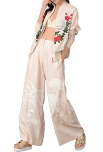 beige-embroidered-top-and-pant-set